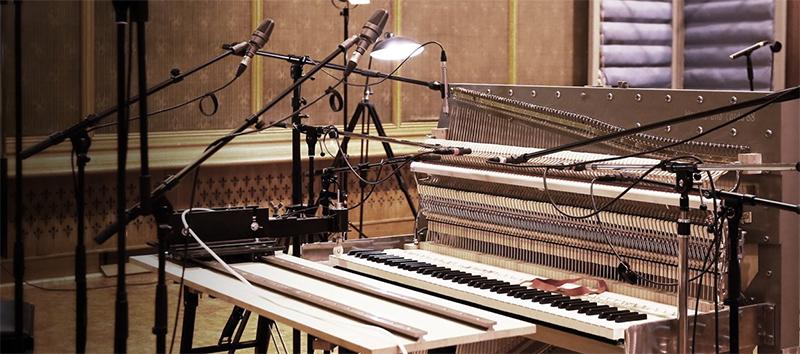 una_corda_recording