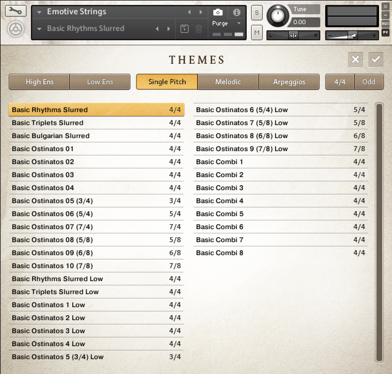 Emotive Strings_Themes