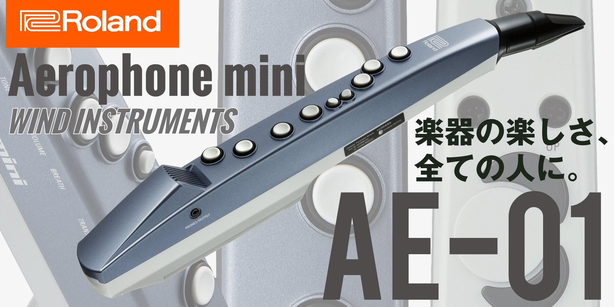 【Roland Aerophoneにエントリーモデル登場!】